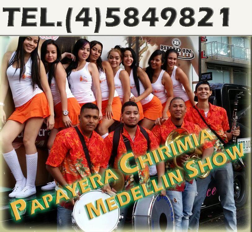T5849821 Chirimia Papayera Medellin Show en Bello Papayeras