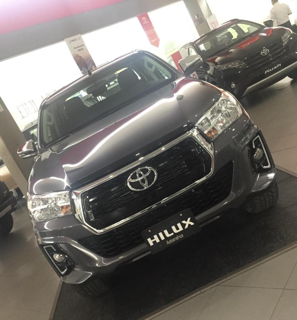 Hilux 2.400Cc 4X4 / Diesel Mecánica 2019
