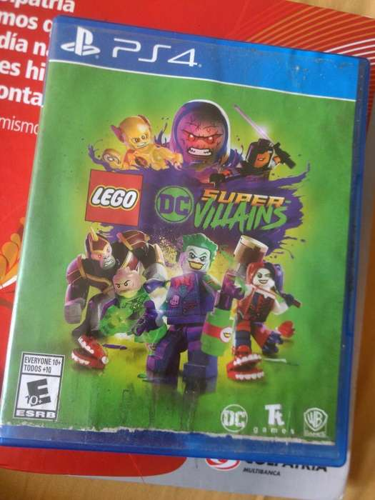 Lego Dc Super Villains Ps4 Play 4 Físico