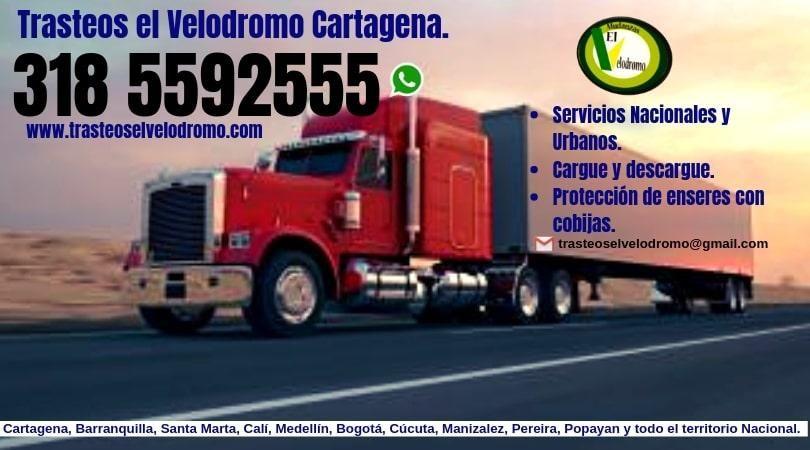 Mudanzas en Cartagena. Te asesoramos GRATIS. 318 55 92 555
