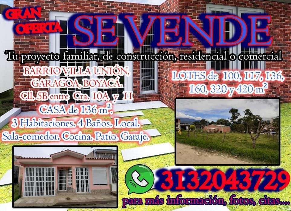 Casa de Diseño en Garagoa Boyaca Valle de Tenza Excelentes Acabados y Espacios