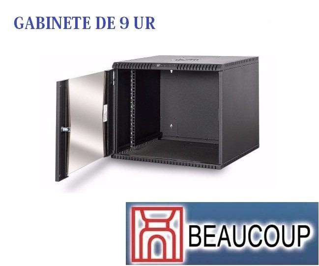 GABINETE RACK BEAUCOUP I1051 COMPACTO DE PARED 9UR 47x54x50cm