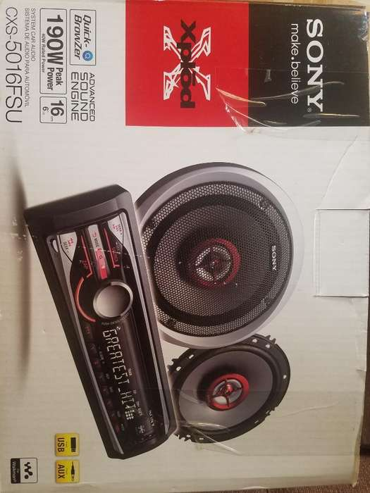 Vendo Radio Sony Original para Carro