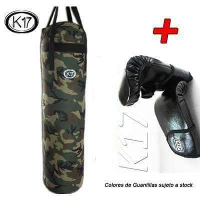 Kit de Boxeo para Niños Saco Guantillas