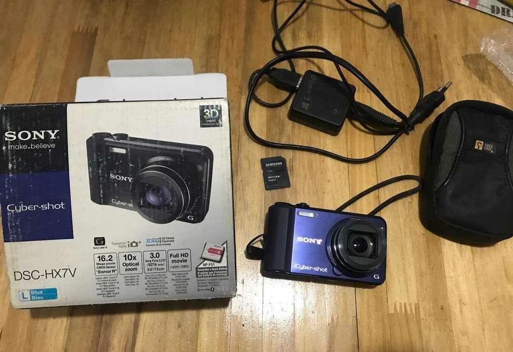 Camara Sony Cybershot Dsc-Hx7V