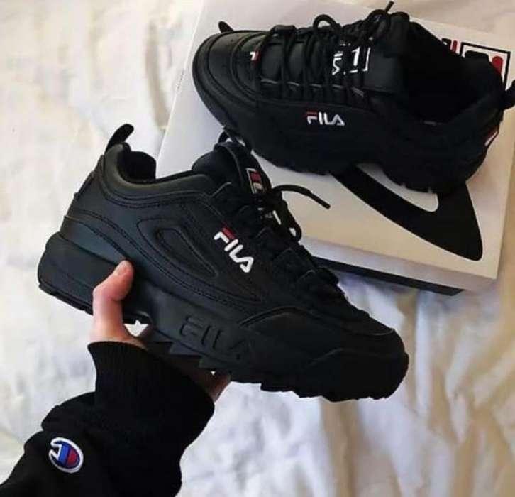 Compra > zapatos fila negro usa- OFF 75% - eltprimesmart ...