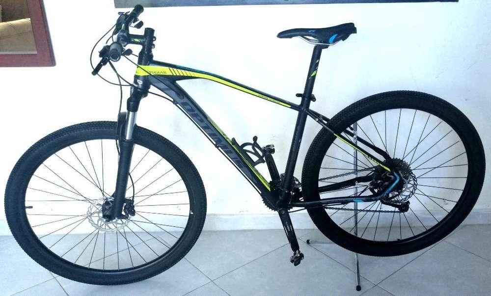 Bicicleta Optimus Tucana Rin 29, 9 V