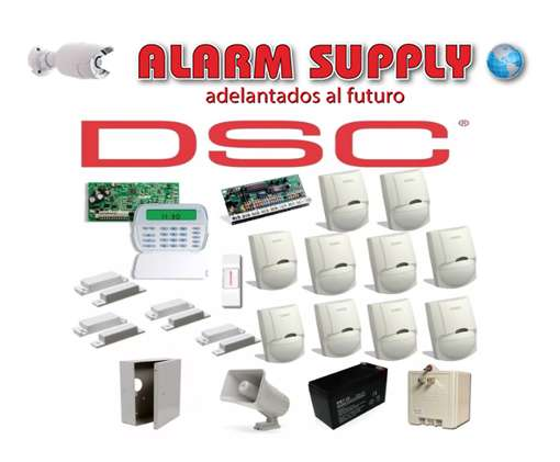 Kit Dsc De Alarma De 4 Magneticos 10 Sensores Alarm Supply