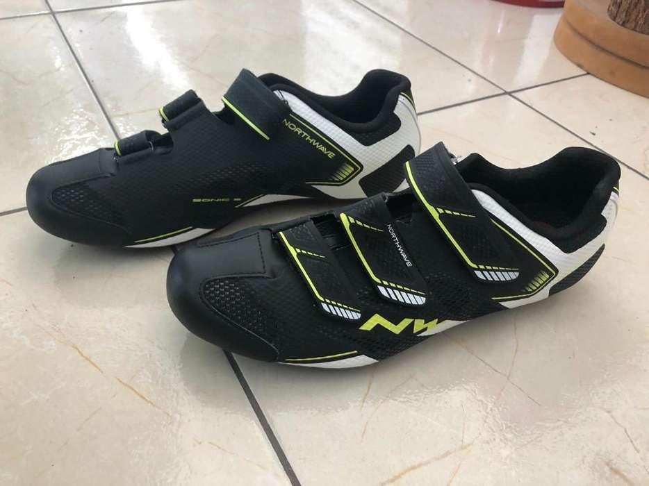 Zapatos para Ciclismo Northwave 42 Y 45