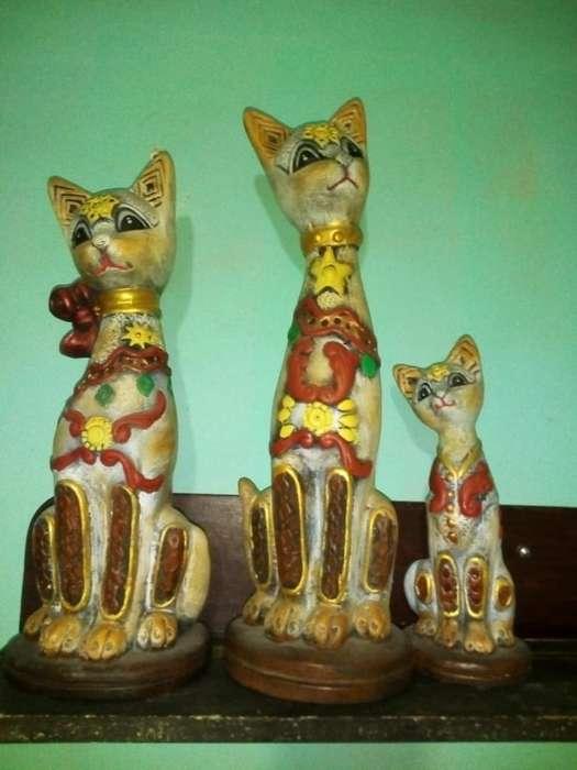Porcelanas - Gatos