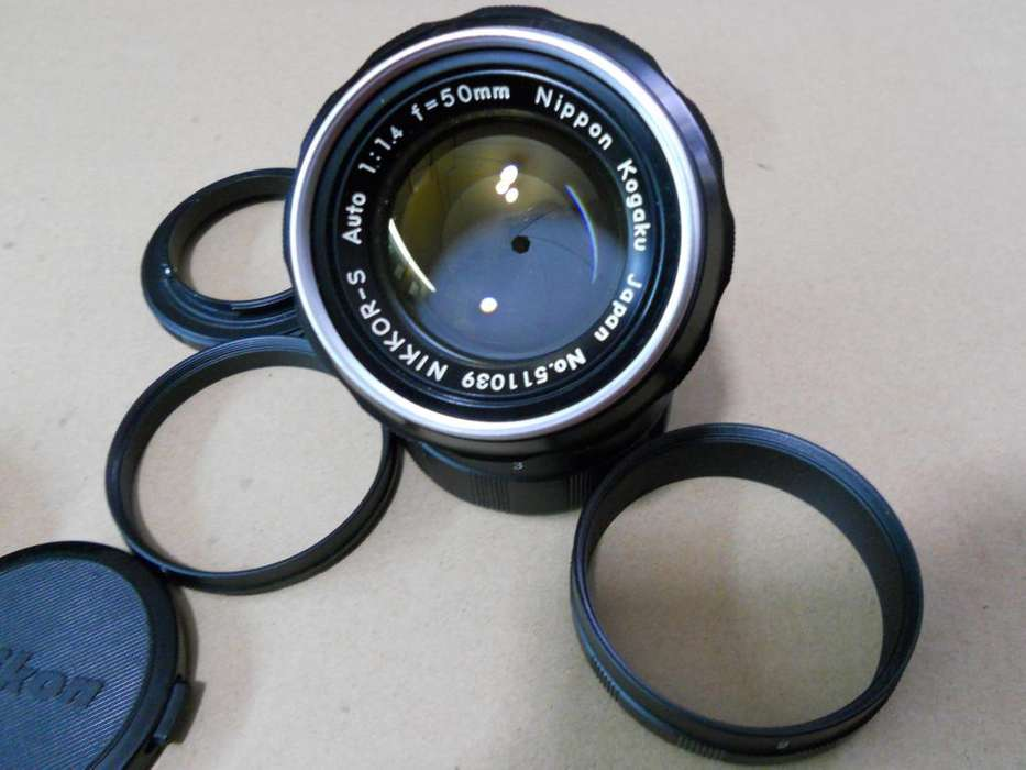 Lente AnalogoNikon 50mm f/1.4 (excelente estado)