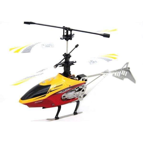 Helicoptero Sky New Star Mini 2.4G 4 Canales Estructura de metal w/gyro RTF HCW536 HCW537.