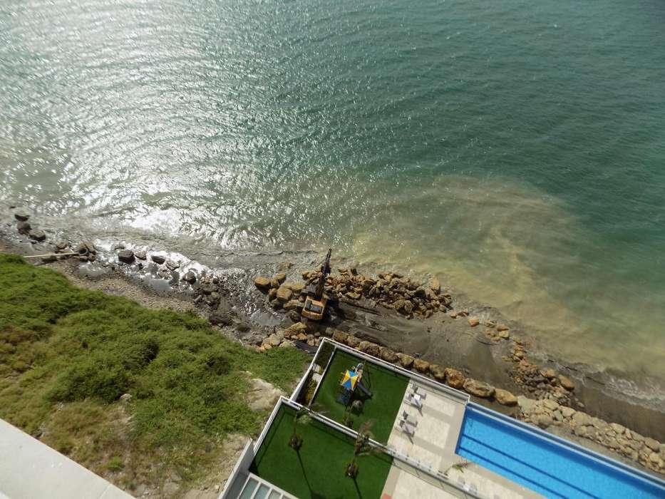Departamento edificio de primera frente al mar Manta
