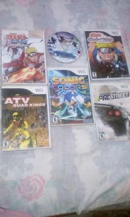 Juegos para Wii Originales