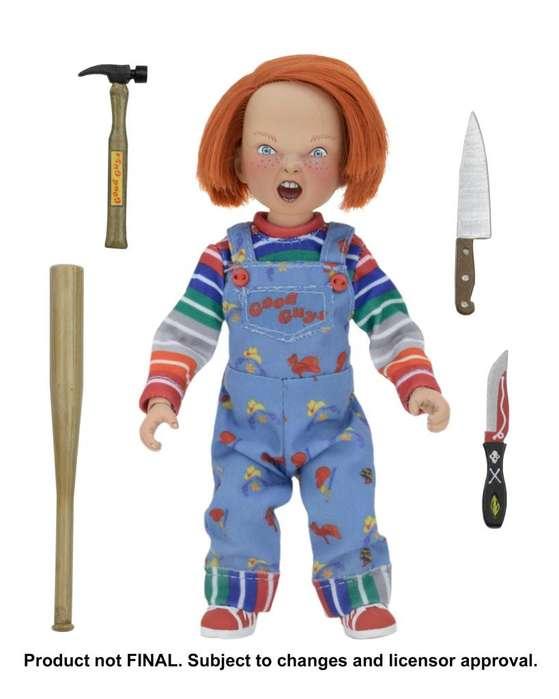 Figura Colección Chucky Childs play marca NECA