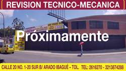 CDA del Tolima Revisión TécnicoMecánica
