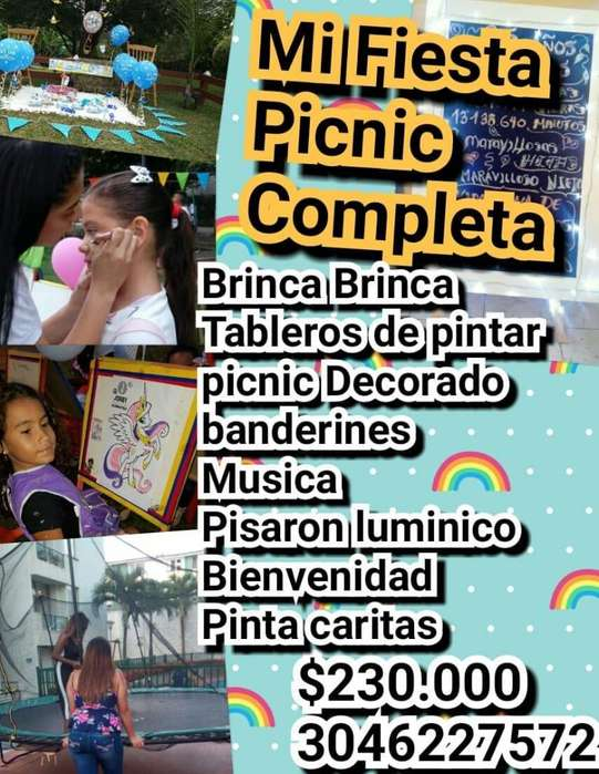 paquete picnic personalizado
