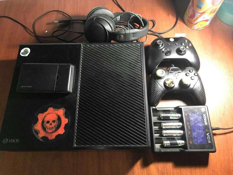 Xbox ONE disco externo 1tb500gb internocontrol powerA fusionxbox live