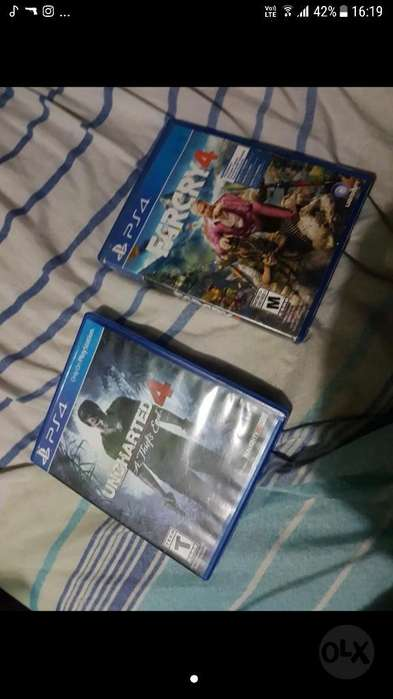 Uncharted 4 & Far Cry4