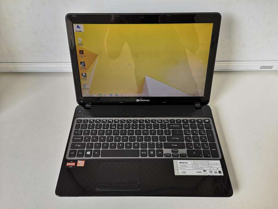 REMATO LAPTOP GATEWAY AMD A8 (CORE I5) S/. 350 - MIRAFLORES - 943514477