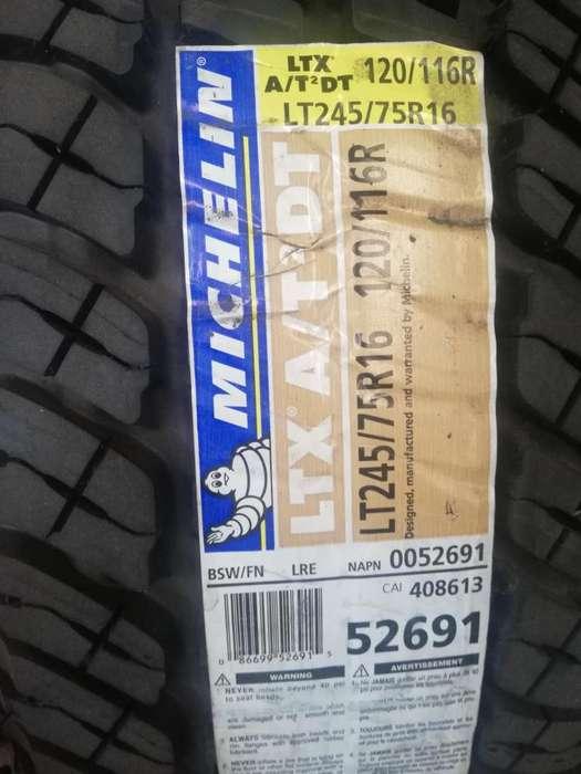 Llanta Michelin LT 245 75 R16