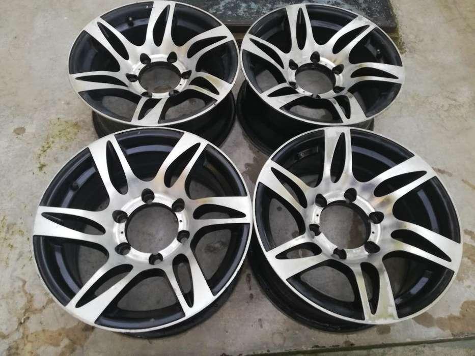 Aros de Aluminio Rin 15