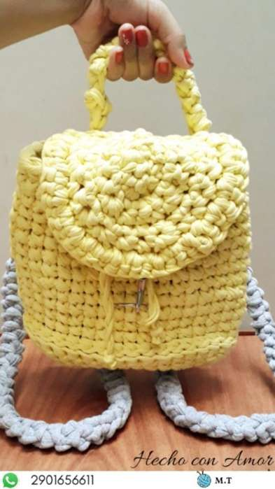 Mochilas a Crochet!!