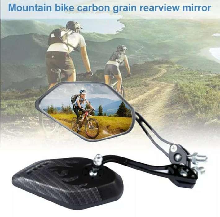 <strong>espejo</strong> para Bicicleta Negro