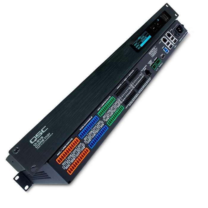 Procesador Qsc CORE 110F 24 canales audio VoIP USB
