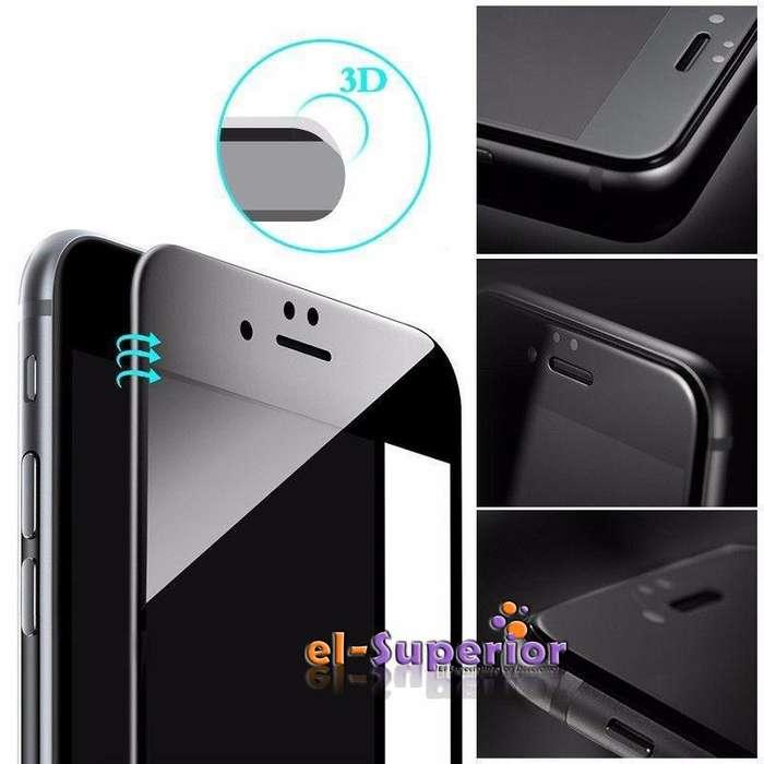 Vidrio Templado iPhone 6 6 Plus Cover Full Curvo 5d 6d