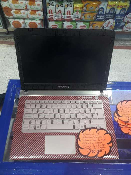 Portatil Sony Vaio Core I7