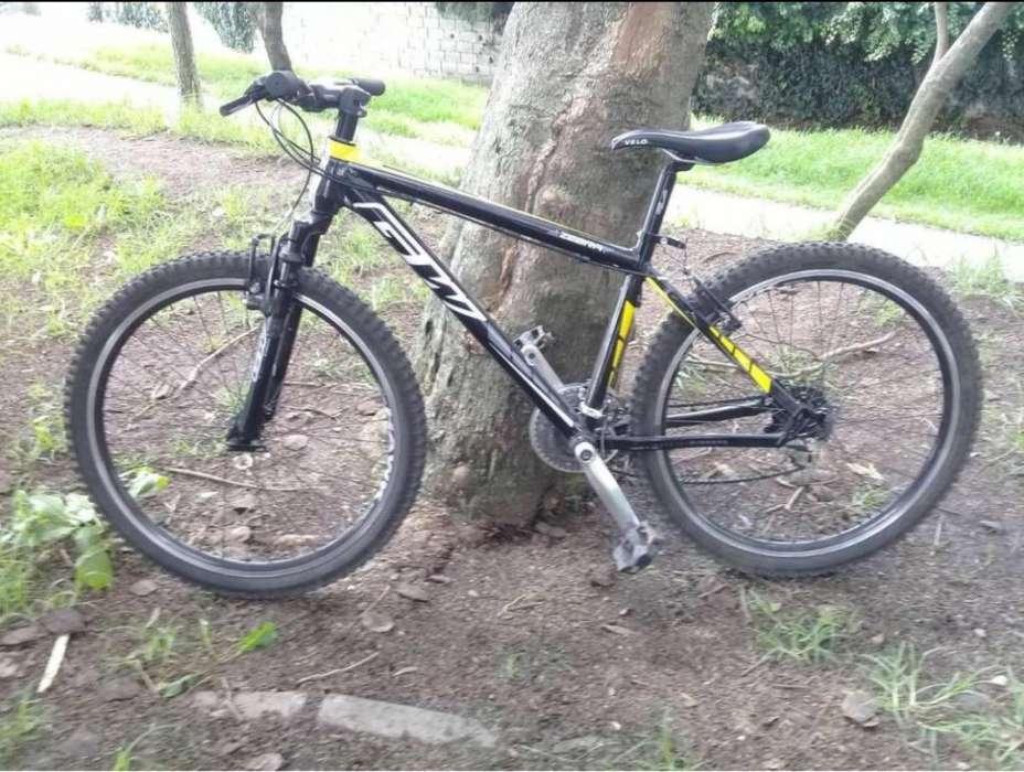 Vendo Bici Gw Zebra Aro 26 Como Nueva