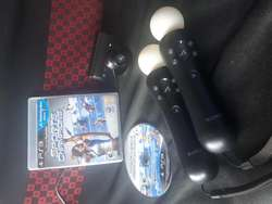 Camara Move Ps3 / 2 controles / 1 Juego