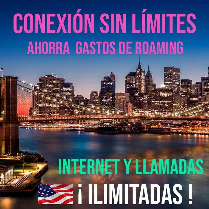 Sim Chip Usa EEUU Internet Datos Llamadas Whatsapp mensajes GPS ILIMITADO LLAMADAS A ECUADOR