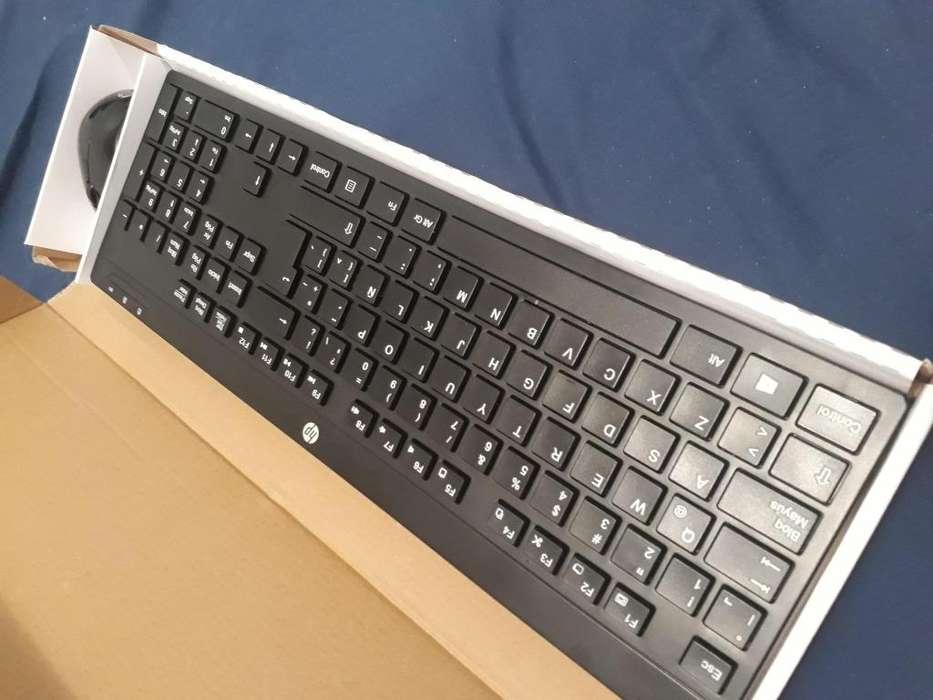 teclado y mouse inalambrico hp