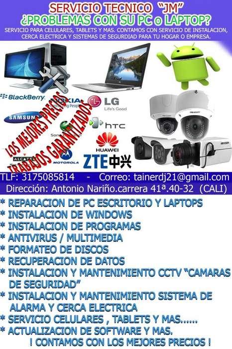 INSTALACION DE CCTV CAMARAS DE SEGURIDAD, SISTEMA DE ALARMA, ELECTRICISTA, TECNICO COMPUTADORAS Y ALGO MAS