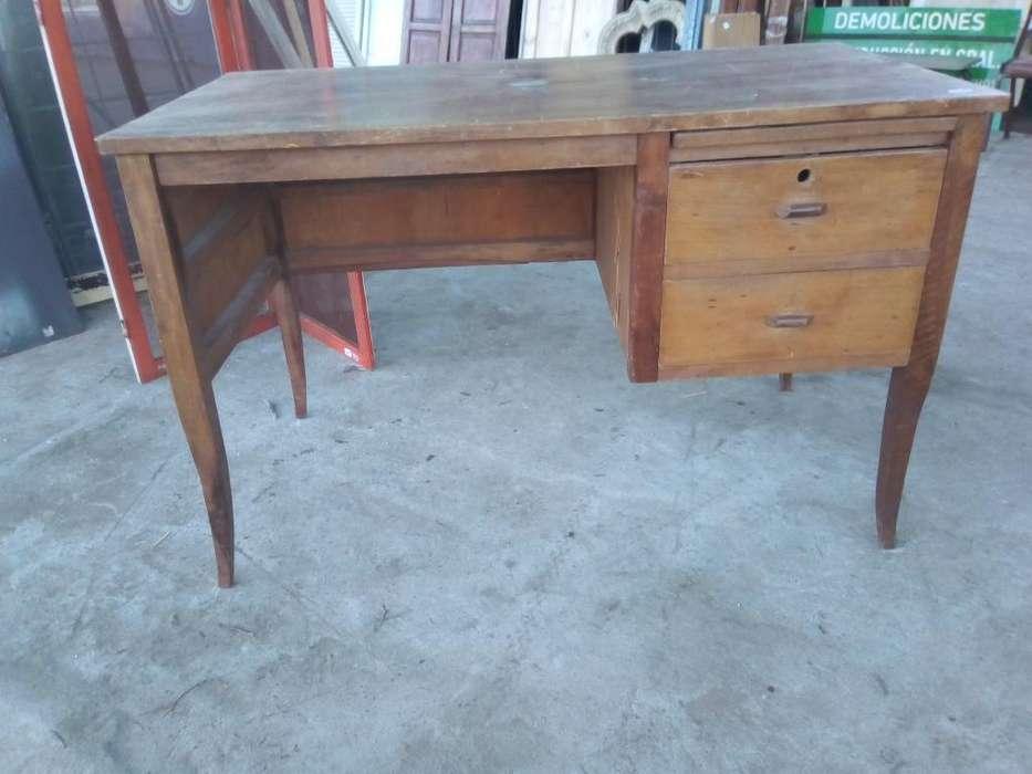 <strong>escritorio</strong> Madera 2 Cajones