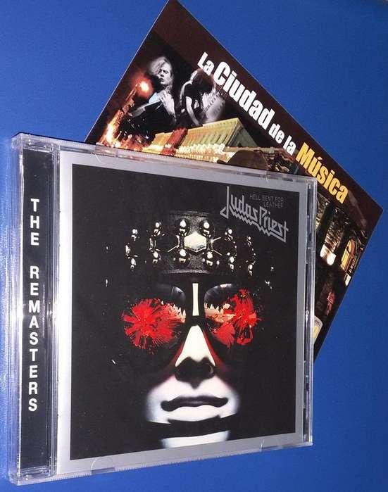 CD'S DE VENTA!!! Judas Priest - Hell Bent For Leather