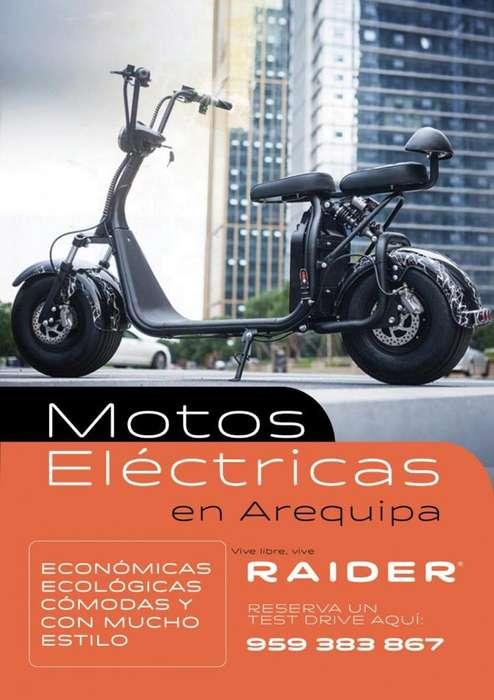 Motos Eléctricas Raider