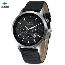 Reloj Hombre North Sport Elegante Cuero