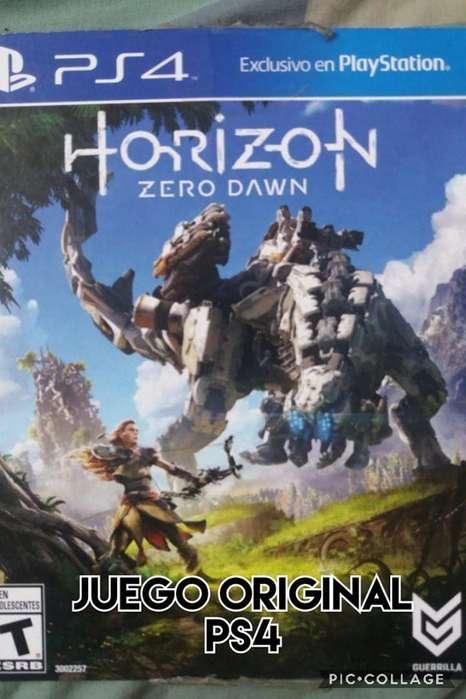 horizont zero dawn fisico ps4 venta cambio