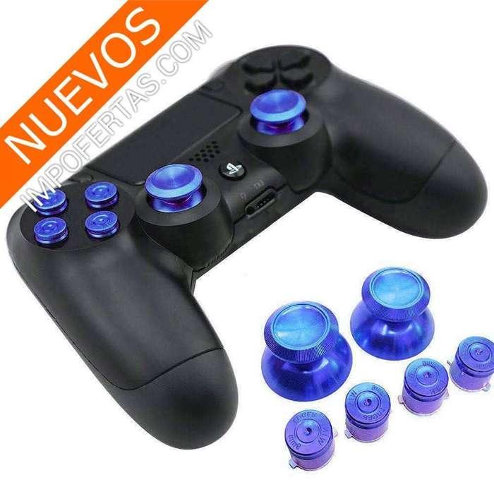 Palancas fabricadas en aluminio para control de PS4, PS3, XBox ONE o XBox360