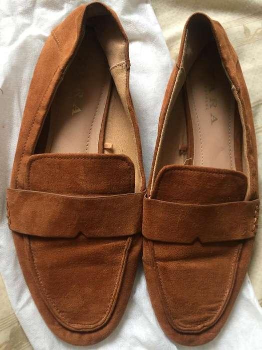 Zapatos Mocasines Zara