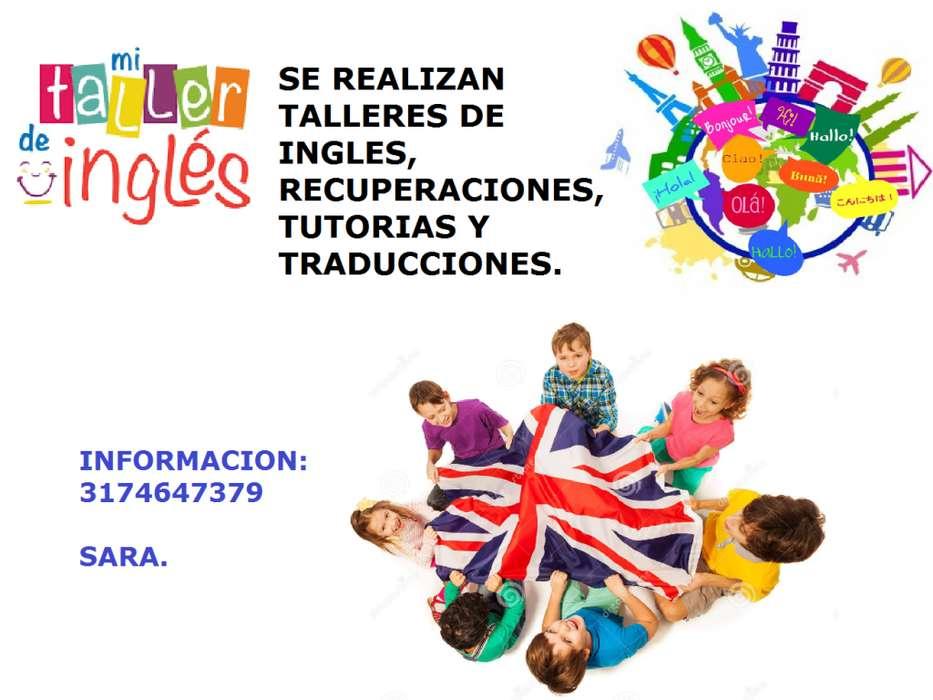 CLASES DE INGLES, TUTORIAS Y TALLERES