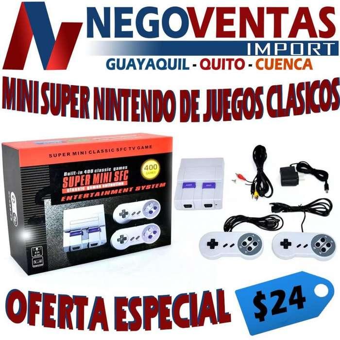 <strong>consola</strong> DE JUEGO RETROS NINTENDO 400 JUEGOS