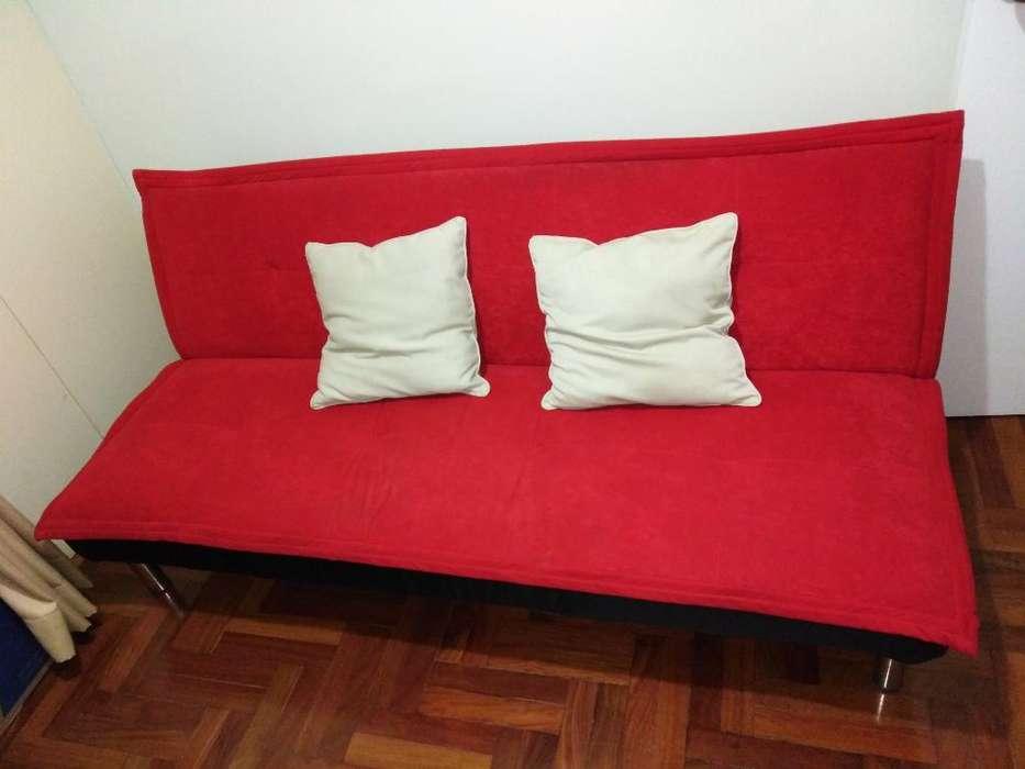 Sofá Cam Color Rojo