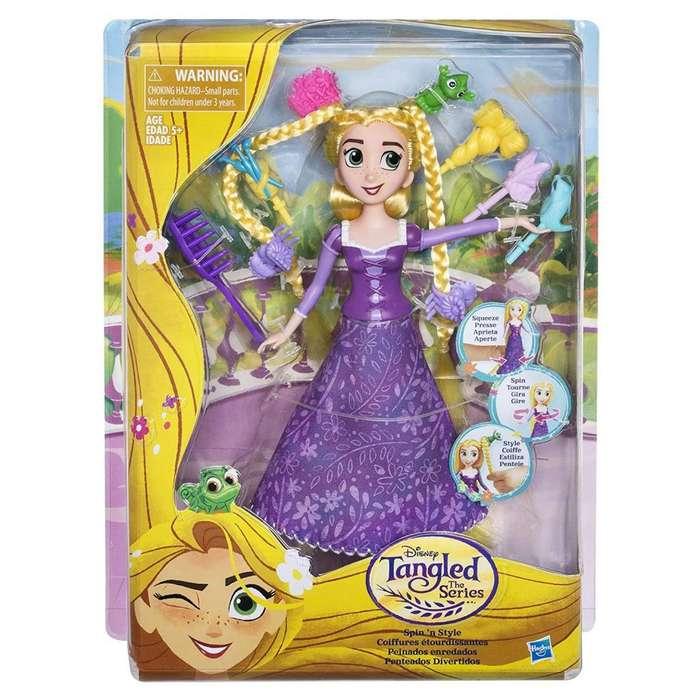 Disney Tangled la serie 'n Style de centrifugado Rapunzel