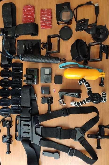Gopro Hero5 Black con <strong>accesorios</strong>