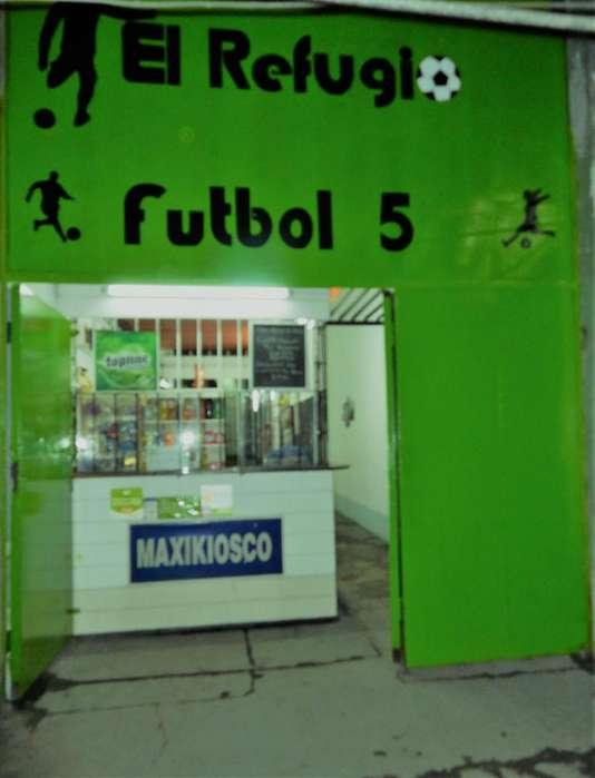 VENDO FONDO DE COMERCIO CANCHA DE FUTBOL 5-OFERTON