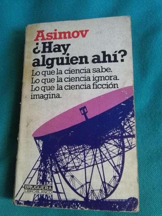 HAY ALGUIEN AHI ?. ISAAC ASIMOV LIBRO CIENCIA FICCION BRUGUERA